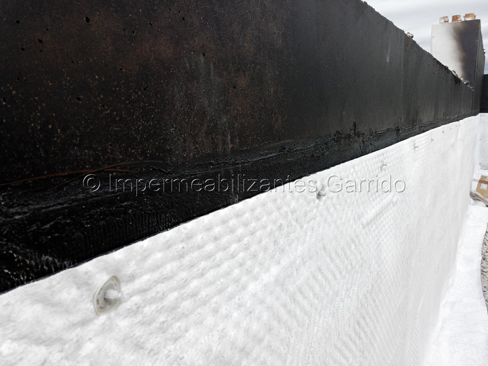 Impermeabilización muros de impermeabilizantes Garrido 1