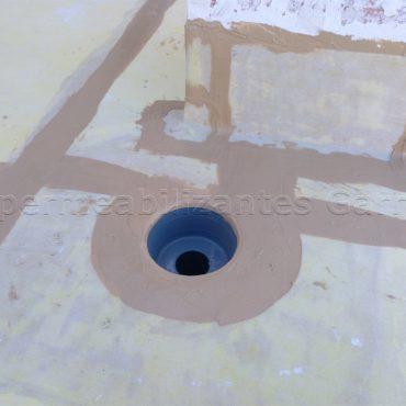 Colocación de Laminas Revestech de Impermeabilizantes Garrido